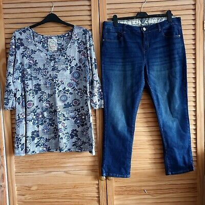 Mantaray outfit,  size 18, jeans worn once