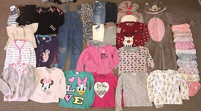 Girls clothes bundle 3-4 years autumn winter leggings skinny jeans jumpers tops