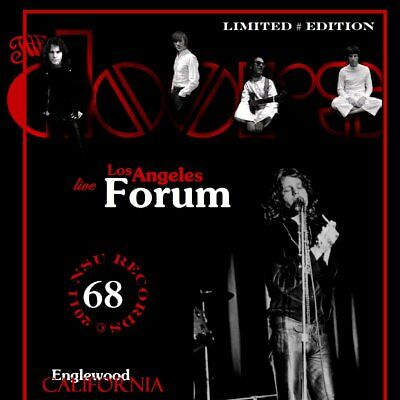 THE DOORS LIVE AT THE FORUM IN LOS ANGELES, CA 1968 DECEMBER 14th LTD # CD
