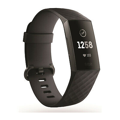 Fitbit Charge 3 Black Womens