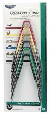 VOLLRATH 4780911 Utility Tong, Multi-Colored Set