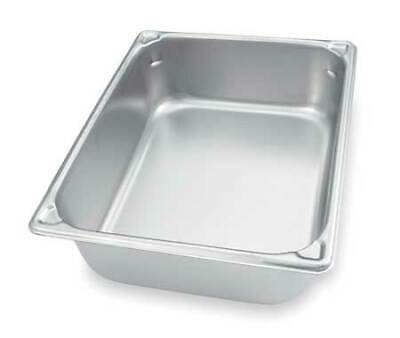 VOLLRATH 30222 Pan,Half-Size,4.3 Qt