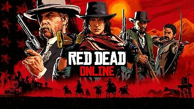 [PC] Red Dead Redemption 2 Online -1-50 Rank Leveling