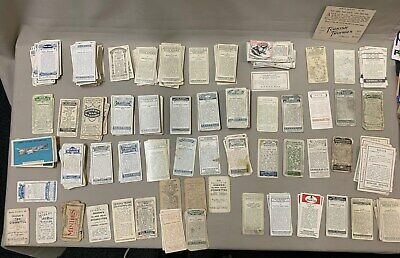 Large Collection Of Cigarette Cards & Stamps