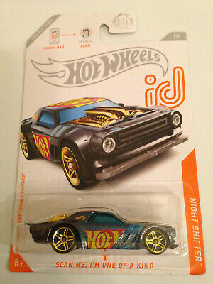 2020 Hot Wheels Id Chase Car Night Shifter New 2020 Case A
