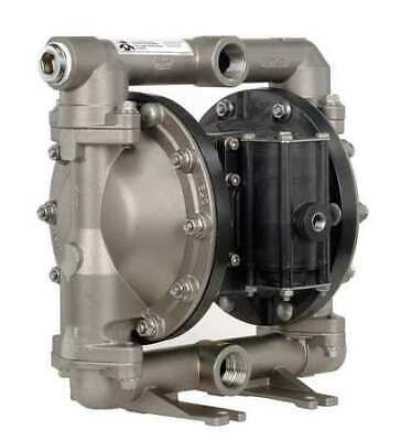 ARO PD10A-ASS-STT Double Diaphragm Pump, Stainless steel, Air Operated, PTFE,