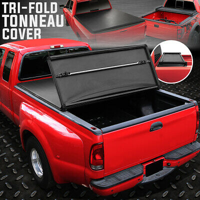 For 94 04 Chevy S10 Gmc Sonoma Fleetside 6 Bed Tri Fold Soft Top Tonneau Cover 163 88 Picclick