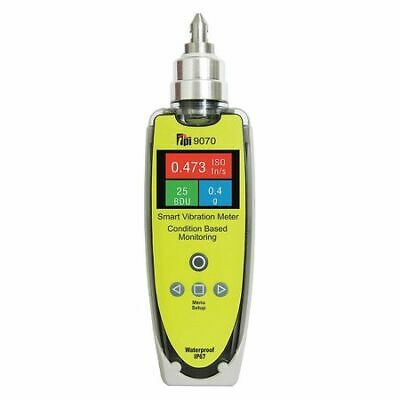 TEST PRODUCTS INTL. 9070 Vibration Meter,IP67 Rated