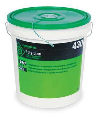 POLY PRO ROPE 3//16X600FEET 409 By Greenlee VWU