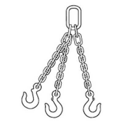 ZORO SELECT 200000969 Chain Sling,5 ft. L,TOS Sling Type