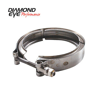 Diamond Eye VC400HX40 V-band Clamp For Hx40 Turbo Stainless Steel