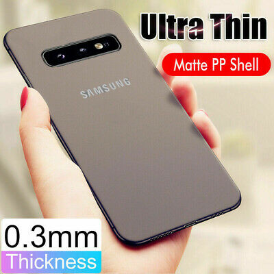 0.3MM Case For Samsung Galaxy Note 10 Plus S10 S9 S8 Ultra Thin Matte Hard Cover