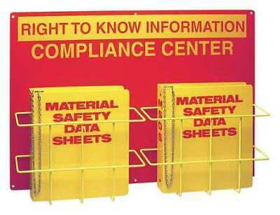 BRADY RK208A Right to Know Compliance Centr,Polystyrn