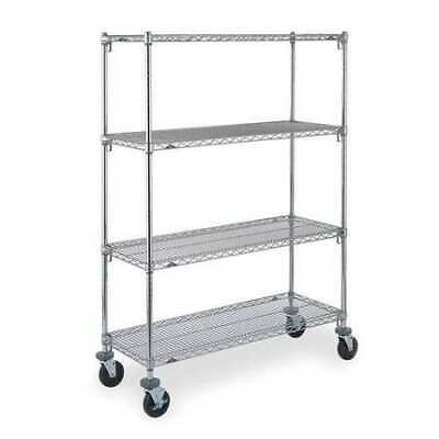 METRO CART 2A Adjustable Shelf Wire Cart,18 In. W