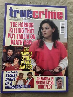 True crime magazine February 2014 Fred and Rose West VGC!!