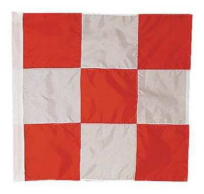 ANNIN FLAGMAKERS 3375 Airfield Vehicle Safety Flag,3ft.Hx3ft.W