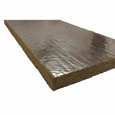 """ROXUL 40260 1"""" x 48"""" x 24"""" Mineral Wool/Foil Backing High Temperature Insulation"""