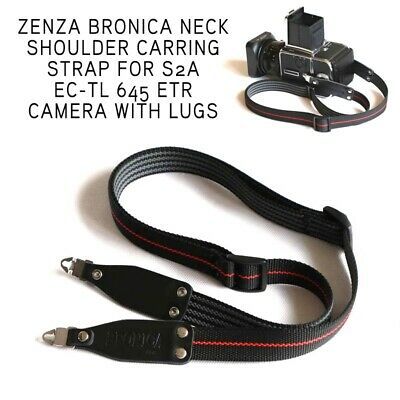Zenza Bronica Neck Shoulder Quick Carrying Strap For S2a EC-TL 645 ETR Camera c