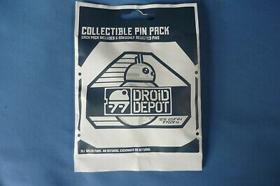 STAR WARS  Disney Pin 2019 DROID DEPOT 5 pins  Collectible PIN PACK Mystery NEW