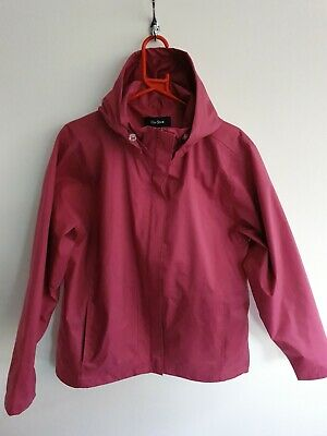 Peter Storm Waterproof Womens Coat Jacket Pink size 16 Rain storm jacket