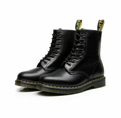 NEW Dr Martens 8-Eye Classic Airwair 1460 Leather Ankle Boots Unisex hot
