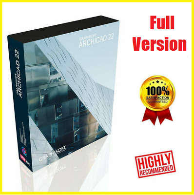 🔥🔥GRAPHISOFT ARCHICAD 22 2019 ☑ Full Version☑  Low Price ☑Fast Delivery 🔥
