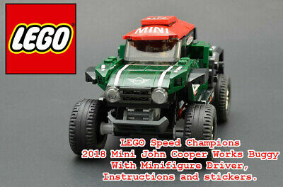 LEGO 2018 Mini Works Buggy & Driver only - From 75894 LEGO Speed Champions.