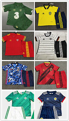 Soccer Kids Football Kit Jerseys Outfit Strips Personalied Custom Christmas Gift