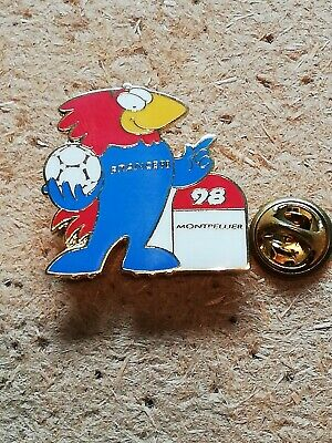 Pin's Pins Montpellier France 98 coupe du monde Stade de Mosson Footix football