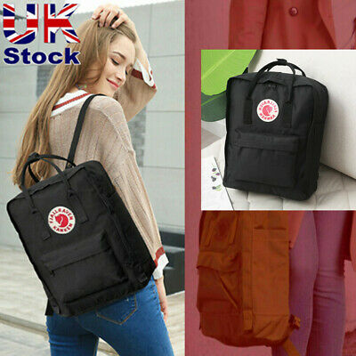 16L Fjallraven Kanken Backpack School Waterproof Handbag Unisex Sport Travel Bag