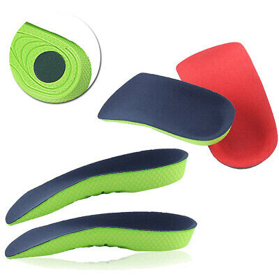 Training Shoe Insoles Pads Height Increase 1 Pair Heel Lift Arch Support Sports