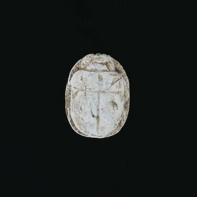 Egyptian Scarab Carved Stone Bead Engraved Ancient Relic Artifact Jewelry Making