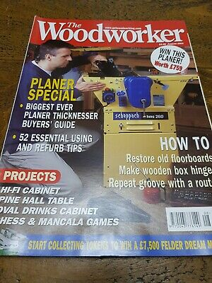 The Woodworker Magazine August 2003