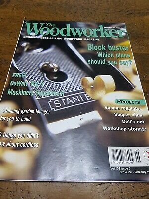 The Woodworker Magazine June/July 1998