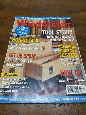 The Woodworker Magazine July 2001