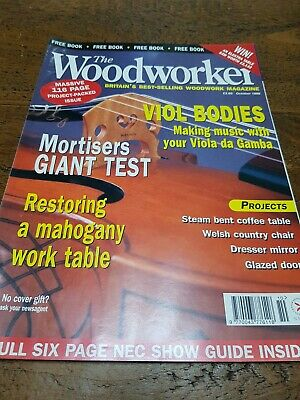 The Woodworker Magazine October 1999