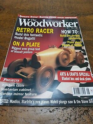 The Woodworker Magazine August 2001