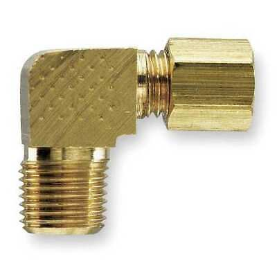 3//8 Compression Tube x 3//8 Male Thread Pack of 10 Extruded Brass Parker Hannifin 269C-6-6-pk10 Male Elbow Compression Fitting