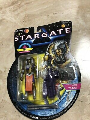 VINTAGE STARGATE RA ACTION FIGURE MOC 1994 HASBRO Toy Artifact Ruler Of Abydos