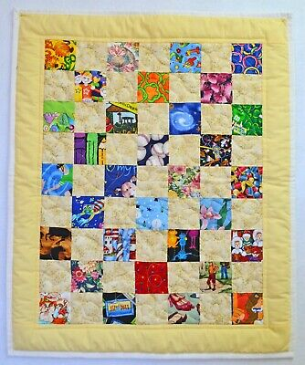 I SPY Baby Quilt #39 -  Baby Security blanket,  Igloo,  ISPY  I-SPY