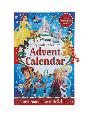 New Disney Christmas Advent Calendar Book 2019 collection 24 books Frozen Toy St