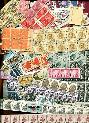 U.S. DISCOUNT POSTAGE LOT $27.11 FACE SELLING FOR $24.00 Lower Values Nice