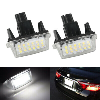 LED License Plate Light Assy Fits Toyota Camry Toyota Highlander Toyota Avalon
