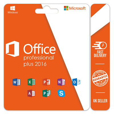 Microsoft Office 2016 Professional Plus Genuine Product Key🔥 Instant Delivery🔥