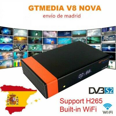 Original Gtmedia V8 Nova Full HD 1080P Built in Wifi DVB-S2 Satellite Receiver