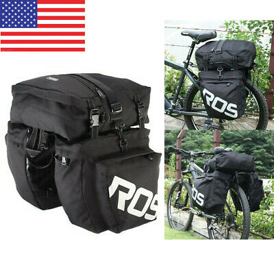 Lixada 13L Multifunctional Bicycle Rear Seat Bag Outdoor Cycling Bike Rack G4G0