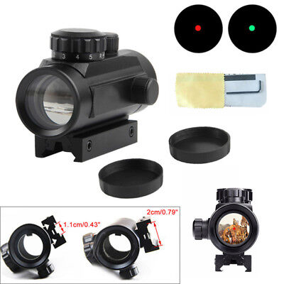 1PC Tactical Holographic Red Dot Sight Scope 40mm Magnification Cross Riflescope