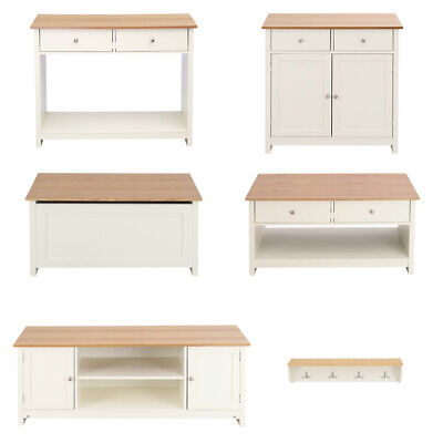 Large TV Stand Wood Sideboard Coffee Console Table Storage Ottoman Wall Racks UK