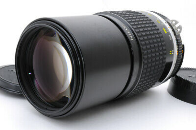 [MINT] Nikon Nikkor Ai-S 200mm f/4 AIS 1:4 Telephoto Lens  from Japan