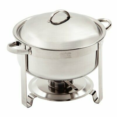 Olympia Vienna Chafing Set 330X420X345mm 18/8 Stainless Steel Dish Chafer